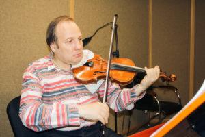 запись скрипки